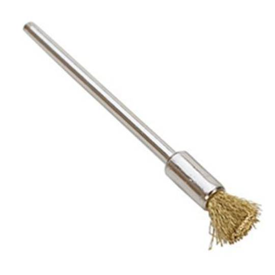 BRASS WIRE END BRUSH 5mm x 7mm