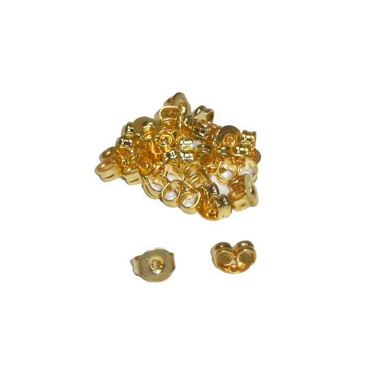 BUTTERFLIES GOLD PLATED (20 PAIRS)