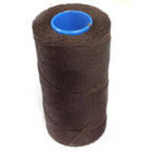 DARK BROWN SEMI WAXED JEWELLERY CORD 0.8MM / FULL ROLL (500 MTRS)