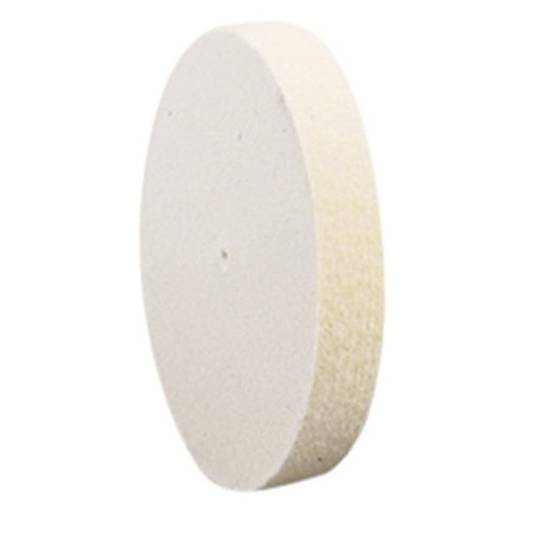 FELT WHEEL 100mm X 10mm (MEDIUM)