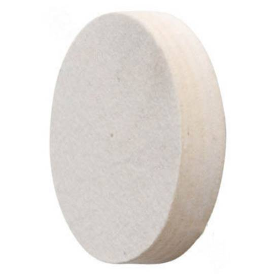 FELT WHEEL 150mm X 25mm (MEDIUM)