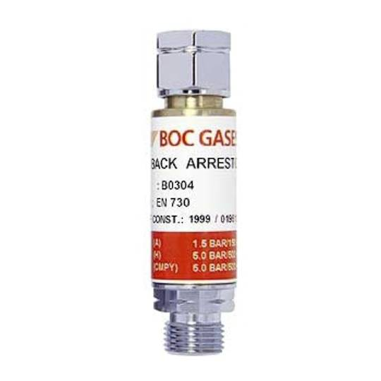 FLASH BACK ARRESTOR - FUEL GAS