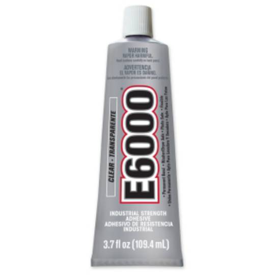E6000 INDUSTRIAL STRENGTH GLUE 3.7fl.oz. (110ml)