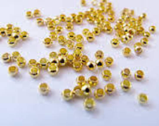CRIMPS GOLD PLATED 2X1.3MM (2 GRAMS)