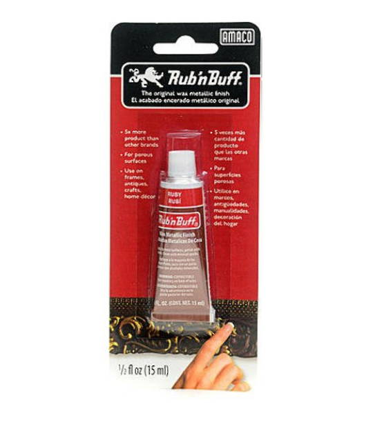 RUB N BUFF 15ML RUBY RED