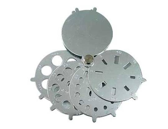 STONE & DIAMOND GAUGE FAN TYPE