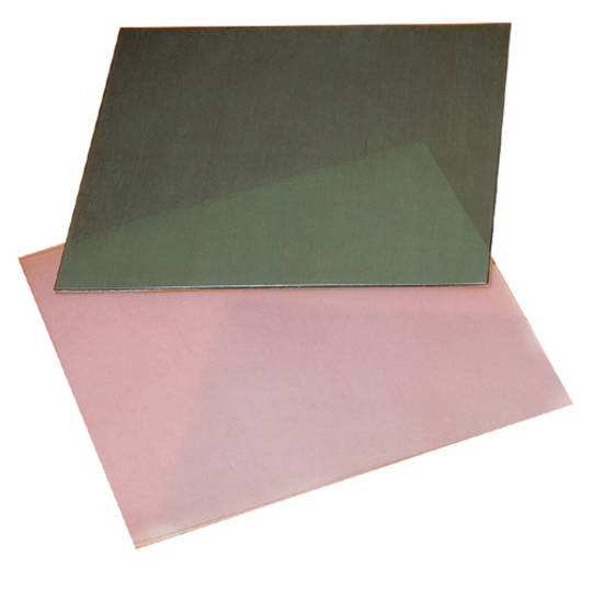 WAX SHEETS 10 X 10CM GREEN - HARD