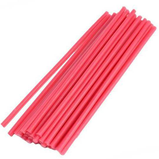 "FERRIS SPRUE WAX (6"") 150mm RED - 8 Gauge (3.25mm)"