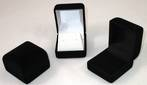 SSR1 - RING BOX BLACK FLOCK WHITE PAD