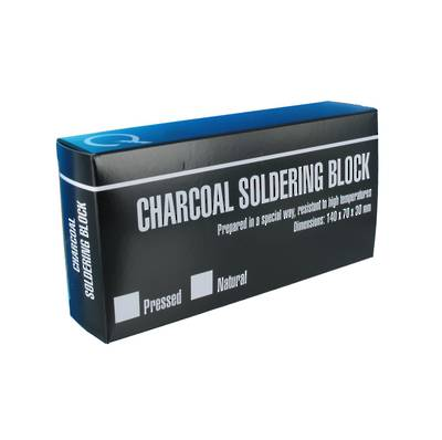 CHARCOAL SOLDERING BLOCK - COMPRESSED