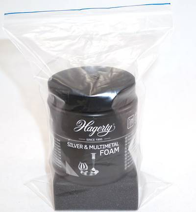 HAGERTY SILVER & MULTIMETAL FOAM 185GMS (DAMAGED PACKAGING)