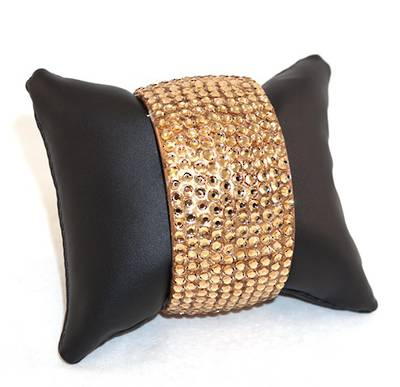 DISPLAY CUSHION BLACK VINYL (X 6 PIECES)