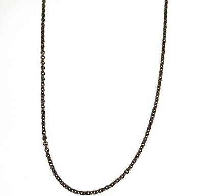 LAURENCE CHAIN MEDIUM CABLE ANTIQUE BRASS 3.5X4MM (1 MTR)
