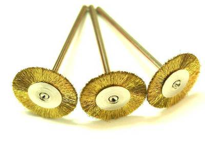 CIRCULAR BRASS BRISTLE BRUSH 21mm
