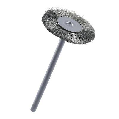 CIRCULAR STEEL WIRE BRUSH 21mm