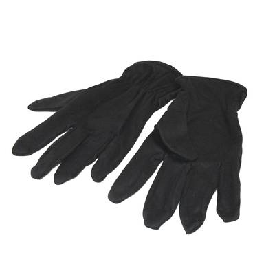 MICROFIBRE GLOVES - BLACK SMALL