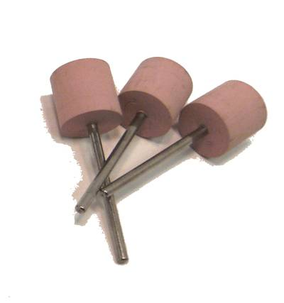 SILICON CARBIDE MOUNTED CYLINDER - XTRA FINE PINK