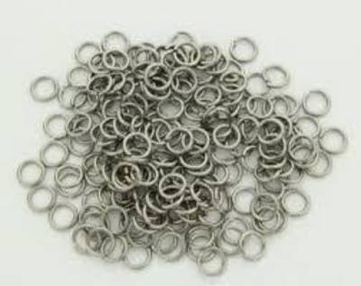 JUMP RING STAINLESS STEEL 4MM  (100 PACK)