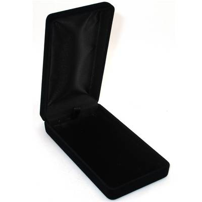 SSLP - LONG PENDANT BOX BLACK FLOCK BLACK PAD BULK DEAL (24 PCS)