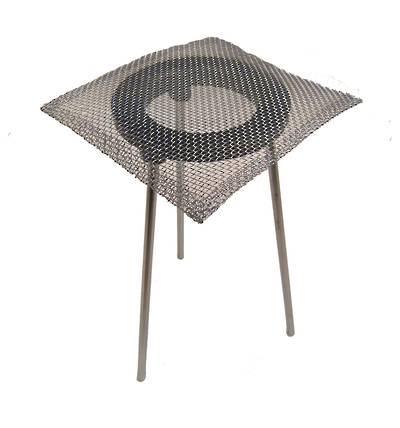 TRIPOD STAND AND S/STEEL MESH