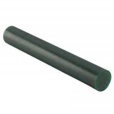 "WAX SOLID ROUND BAR 1"" (25.4mm) Green"