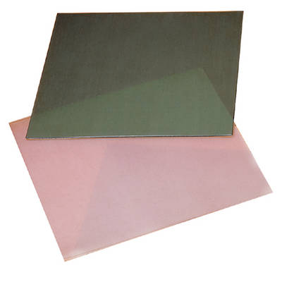 WAX SHEETS 10 X 10CM PINK - SOFT