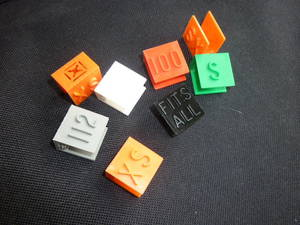 Square Size Markers (25) - Call or E Mail to order