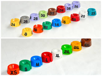 Round Size Markers (25) - Call or E Mail to order