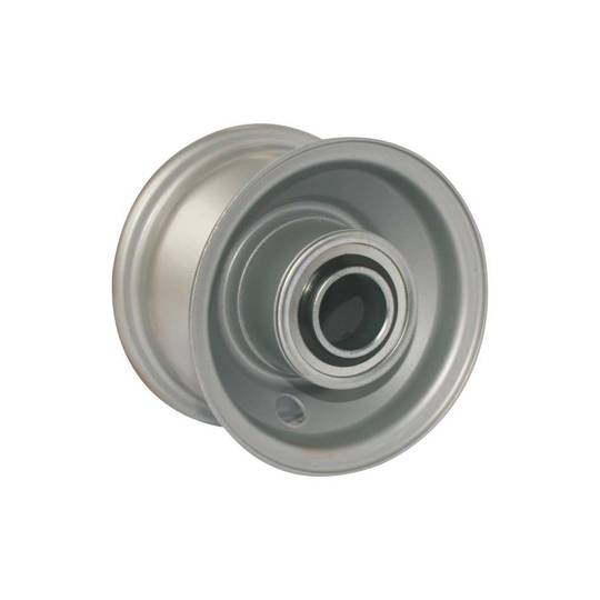 Steel Rim - 4 Inch - Low Speed Bearings - BW100