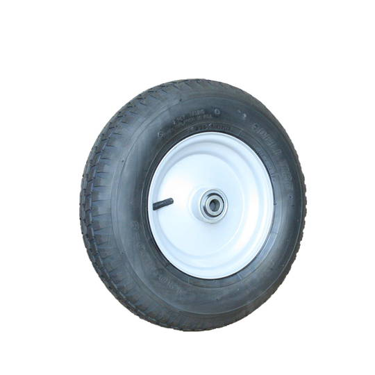 Pneumatic Wheel - Steel Rim - 300x8 Ribbed - BW200-300R