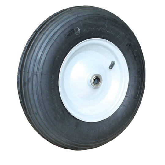 Pneumatic Wheel - Steel Rim - 300x8 Ribbed - BWE200-300R