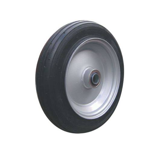 Solid Rubber Wheel 325mm - Steel Rim - BWSR3008