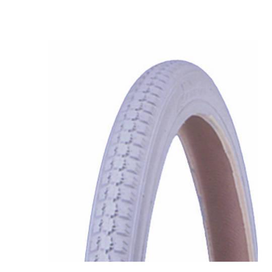 Solid Grey Tyre - 24 x 1 3/8 Universal - SR24x13/8G