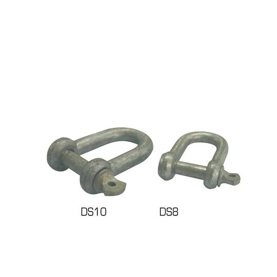 D- Shackle - 10mm - DS10