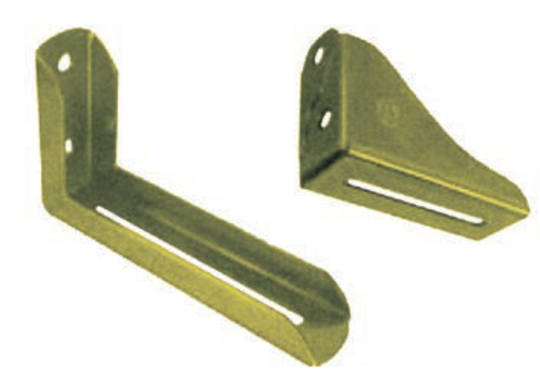 Double Angle Overhead Support Brackets