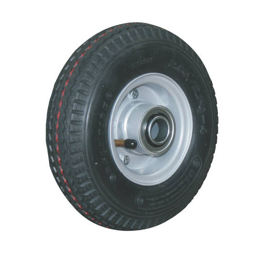 Pneumatic Wheel - Steel Rim - 300x4 Diamond - FBSR100-300D