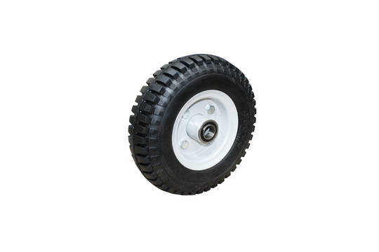 Solid Rubber Wheel 220mm - Steel Rim - FBSRT2504