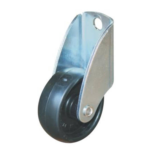 Fixed 50mm Nylon Gate Castor - Side Mount - GC50