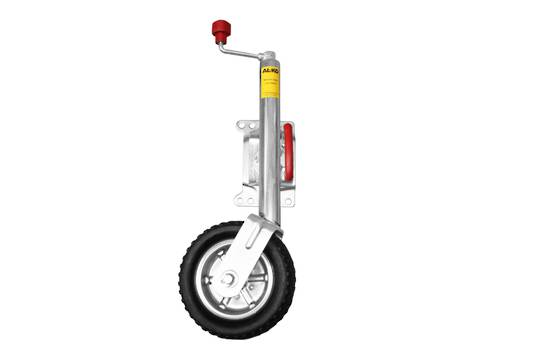 Swing up type Jockey Wheel 250mm rubber wheel JW 10UB