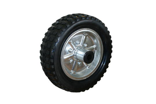 Solid Rubber Wheel 250mm - Steel Rim - JW250