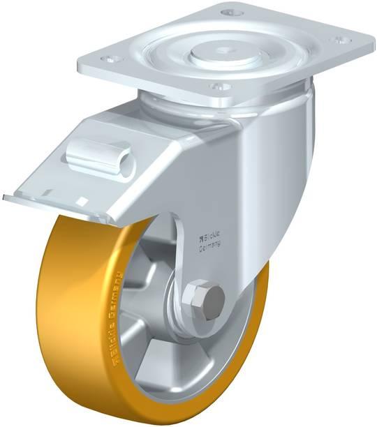 Swivel & Total Brake 150mm Urethane Castor -  MXAU150/P-TB