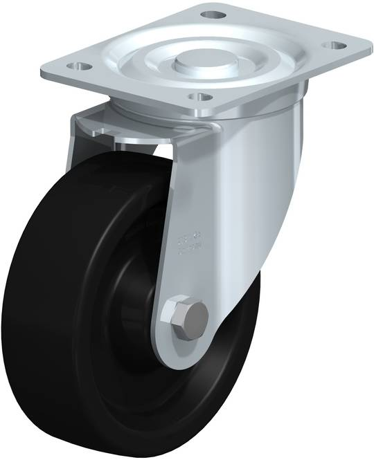 Swivel 150mm Monolithic Castor - High Temperature - MHP150/P