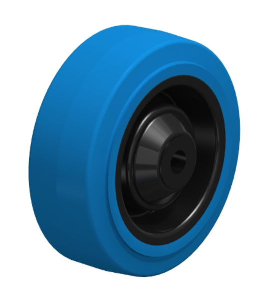 Elastic Rubber Wheel 125mm - LKB125