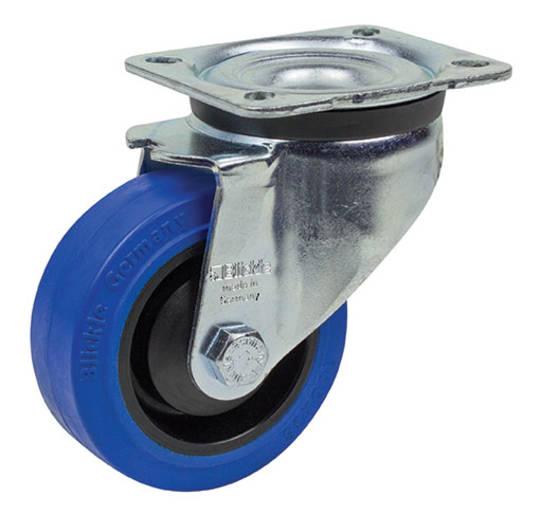 Swivel 125mm Elastic Rubber Castor - LKB125/P
