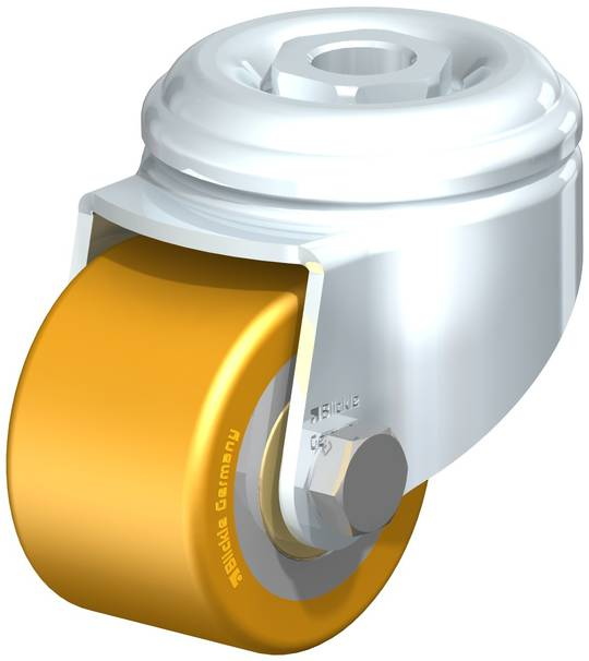 Swivel 50mm Urethane Castor - Low Profile -150KG - BHU50/H