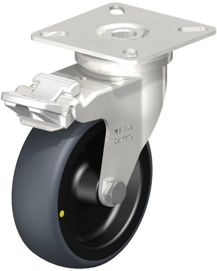 Twin Wheel Castor 30mm - Plate - TW30-P