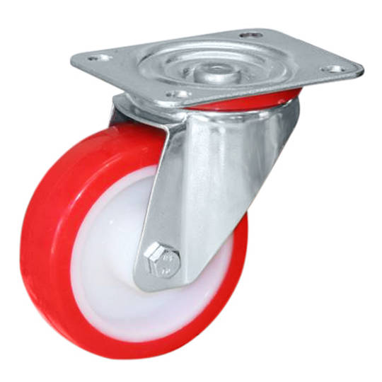 Swivel 80mm Urethane Castor - MCU80/P