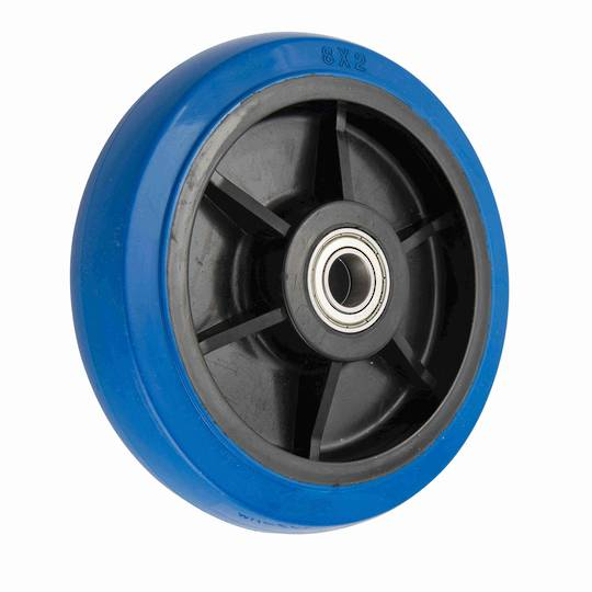 Elastic Rubber Wheel 200mm - MHB200