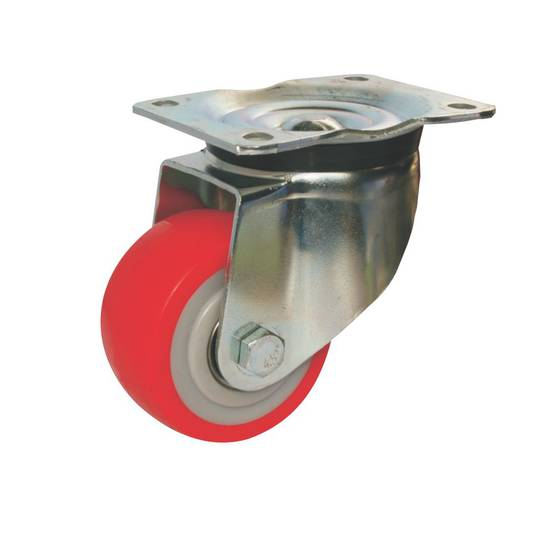 Swivel 100mm Urethane Castor - MHU100/P