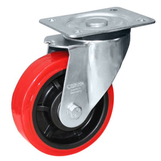 Swivel 200mm Urethane Castor - MHU200/P